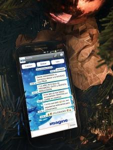 Felicitación Navidad Galaxy S3
