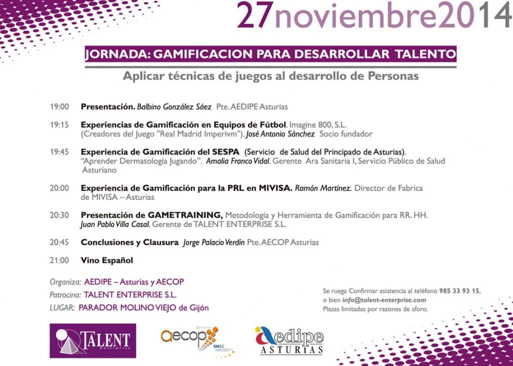 Evento Gamificación AEDIPE