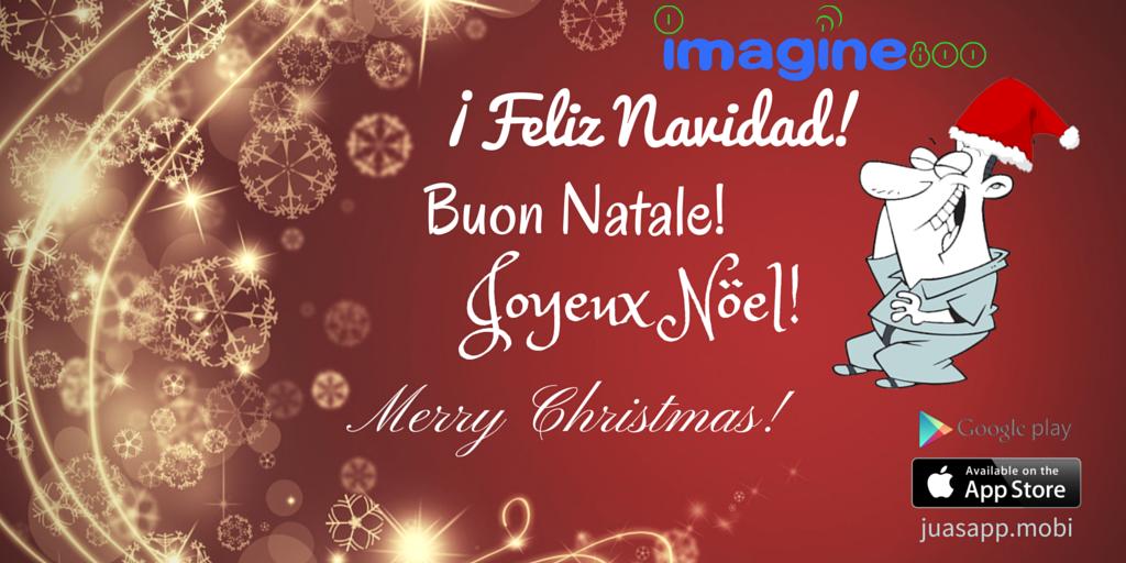 Feliz Navidad desde Imagine800
